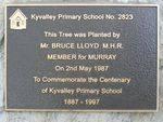 School Centenary Plaque : 22-04-2014