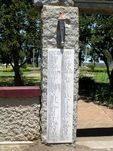 Laidley Memorial Park Gates Honour Roll Left