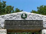 Laidley Memorial Park Gates Inscription