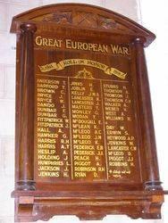 Lancaster Honour Roll : 18-October-2014