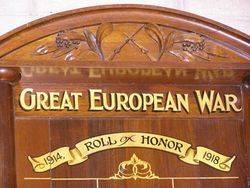 Lancaster Honour Roll 2 : 18-October-2014