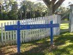 Peace Memorial Park Sign : 04-07-2009