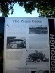 Peace Memorial Park Information Plaque : 04-07-2009