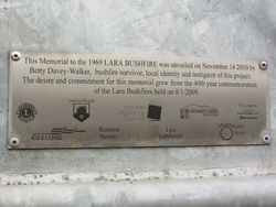 Dedication Plaque : 16- April-2015