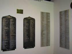 WW1 Honour Rolls: 30-October-2014