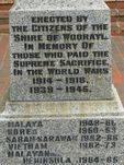 Leongatha War Memorial