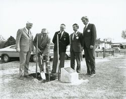 06-October-1973 : Planting Ceremony : State Library of South Australia - BRG-347-1253