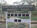 Lions Club Memorial Board : 12-May-2012