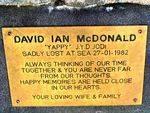 Lost Fishermen Memorial Plaque