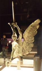 30-January-2015 : Original sculpture in the Australian War Memorial, Canberra