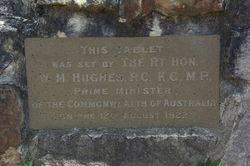 Billy Hughes Plaque : 19-September-2014