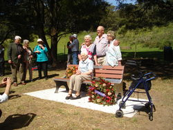 29-November-2014 : Family of Robert Johns who is one of the four Johsn boys on the honour