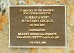 Methodist Church Pioneers : 06-April-2013