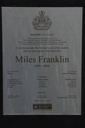 Plaque Inscription : 05-February-2015