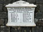 Moorabbin and Highett War Service League Honour Roll : 19-September-2012
