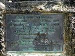 Mossman Mt Molloy Road Plaque