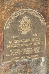 Plaque Inscription : 15-May-2015