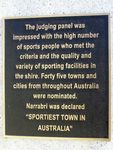 Sportiest Town Plaque 2 : 11-August-2014