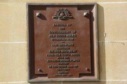 Commemoration Plaque : September-2014