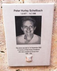 Peter Schellbach Monument Australia