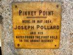 Pinkey Point Inscription : March 214