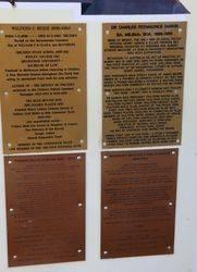 Pioneer Memorial Wall