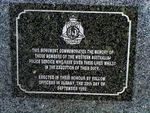 Police Memorial Inscription: 2004