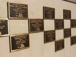 Putty Road Memorial Wall : 10-September-2014