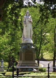 Queen Victoria Statue : 23-October-2014