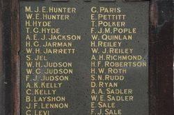 Right Pillar Honour Roll: 23-September -2015