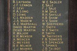 Right Pillar-Honour Roll 2: 23-September-2015