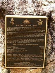 WW2 Plaque : 24-October-2014