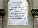 Samuel Blackall Inscription