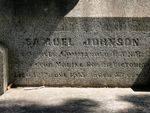 Samuel Johnson : 09-Mar-2013
