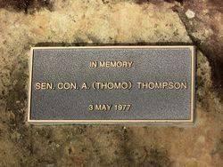 Thompson Plaque : 26-May-2015