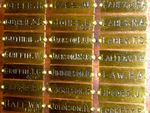 Honour Roll Name Plates : 27-05-2014