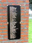 Bushfire Victims Plaque : 2007
