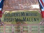 Memorial Hospital Honour Roll 2 : 11-09-2009