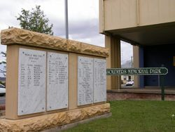 Soldiers Memorial Park : 04-October-2014