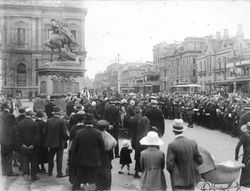 1922 : Memorial service : State Library of South Australia - PRG-280-1-32-138