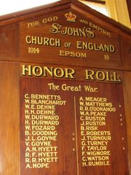 Honour Roll 2 : 18-March-2015