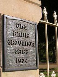 Annie Grovenor Plaque : 15-October-2014