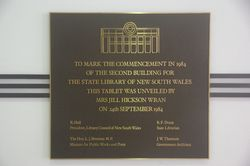 Commencement Plaque : 15-January-2015