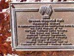 Stockman Statue Inscription