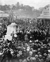 22-August-1902 : Unveiling (State Library of Queensland)