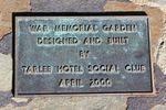 Tarlee War Memorial : 6-September-2011