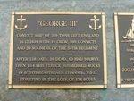 George 111 Plaque : 2007
