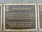 Perseverance Plaque : 2007