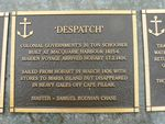 Despatch Plaque : 2007