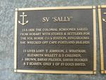 SV Sally Plaque : 2007